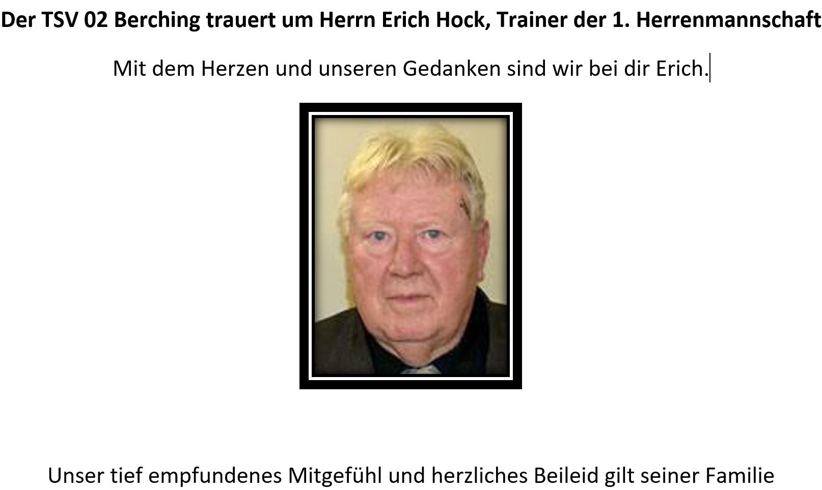 Todesfall Erich Hock